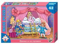 Макси пазл 42 элемента Принцесса на горошине