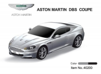 Дет. машина радиоупр.  Aston Martin 1:24