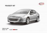 Дет. машина радиоупр.  Peugeot 407 1:14
