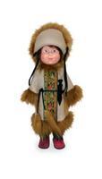 Кукла Оленевод со звуковым устройством 35 см