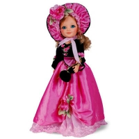 Кукла Анастасия (Фуксия) со звуковым устройством 40 см