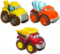 """Дет. игрушка """"Набор детскийиз трёх литых машинок"""""""