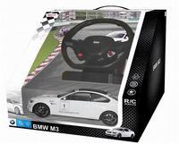 Дет. машина радиоупр. BMW M3 (с рулём управления) 1:14