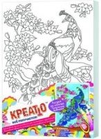 """Набор детский для росписи по холсту """"Тропические животные"""" (в ассорт.)"""