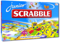 Игра в слова Scrabble Junior (русская версия)