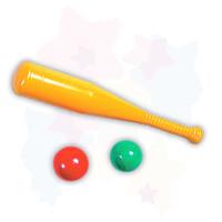 """Детский игровой набор детский """"Бейсбольная бита + два шара"""""""