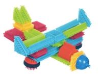 Конструктор детский игольчатый (50 дет., упаковка - чемоданчик)