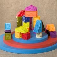 Набор детскиймягких кубиков и других форм «Elemnosqueeze»