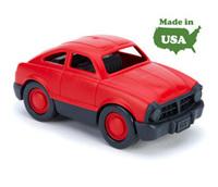 Дет. Гоночная мини-машинка красная (Green toys)