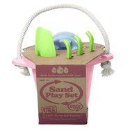 Набор детский для песочницы розовый (Green toys)