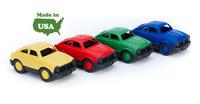 Набор детскийиз 4 гоночных мини-машинок (Green toys)
