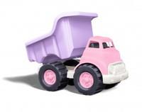 Детский Детский Самосвал с откидным кузовом (розовый) (Green toys)
