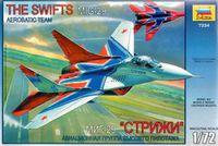 """Модели самолетов для склеивания самолет МиГ-29 """"Стрижи"""""""