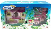 """Детский кукольный дом """"В гостях у куклы"""" с мебелью и человечками (свет, звук) PT-00059"""
