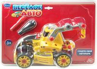 """Набор детский """"Cобери машинку"""" (""""Веселое авто"""") - трактор с отверткой PT-00124"""