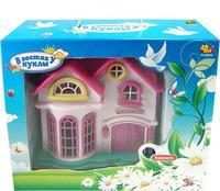 """Детский кукольный дом """"В гостях у куклы"""" с мебелью и человечками (свет, звук)"""