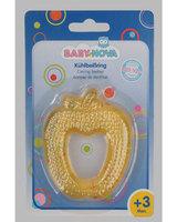 """Зубное кольцо для малыша Baby Nova охлаждающее """"Яблоко / Клубника"""""""