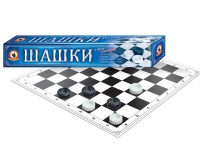 Игра настольная  Шашки (в компактной упаковке)
