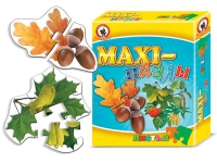MAXI пазлы. Листья деревьев