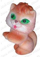 Дет. игрушечная кошечка с бантом