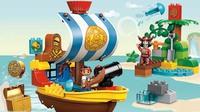 """Конструктор детский Duplo (Дупло) """"Пиратский корабль Джейка"""" 10514"""