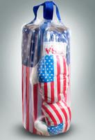 """Детский боксерский набор """"Американский флаг"""" (большой)"""