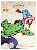 "Бумага цветная ""Marvel comics"" (мелованная, 8 цв./8 л., А4)"