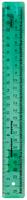 Линейказакройщика (25 см, прозрачная, флуоресцентные цв. в ассорт.)