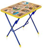 """Стол """"КУ1"""" детский складной столик с рисунком СУ1"""