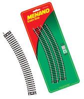 """Рельсы радиальные (комплект из 4 штук) для железной дороги """"Mehano""""  (F210)"""