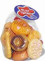"""Детский игрушечный набор продуктов """"Помогаю Маме"""" - хлебобулочные изделия, 20 предм., в сетке, в ассортим"""