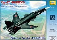"""Модели самолетов для склеивания самолет """"СУ-47 """"Беркут"""""""