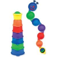 """Дет. игрушка для ванной """"Детская пирамидка-гусеница"""""""