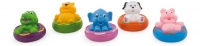 """Дет. игрушка для ванной  """"Зверята на плавательных кругах"""""""
