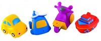 """Дет. игрушка для ванной """"Транспорт"""" (4 штук)"""