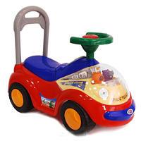 Дет. машина-каталка для детей со светом и звуком Bugati красная