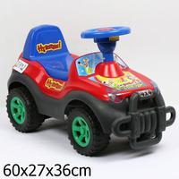 """Дет. машина-Джип каталка """"Ну погоди!"""" Bugati красная"""