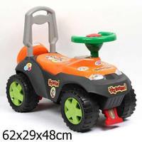"""Дет. машина-каталка """"Ну погоди!"""" Bugati оранжевая"""