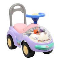Дет. машина-каталка для детей со светом и звуком Bugati фиолетовая