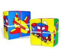"""Кубики детские «Собери картинку - Транспорт"""""""