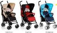 Дет. прогулочная коляска LIMA T13 (цвет caviar/almond)