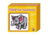 Набор детский для вышивания Слоненок