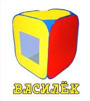 """Дет. палатка №2 """"Василёк"""" 75х75х95"""