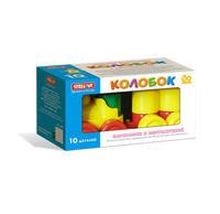 Детский Конструктор детский Колобок 10 дет.. коробка