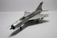 """Модели самолетов для склеивания самолет """"МиГ-21БИС"""""""