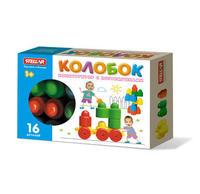 Детский Конструктор детский колобок 16 дет. в коробке