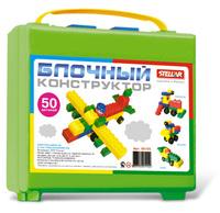 Конструктор детский Блочный К-50 в чемодане