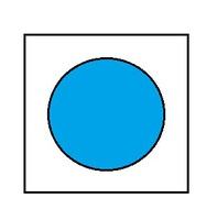 Краска для сборных моделей - Голубая