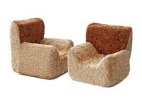Мягкая мебель для кукол 2 кресла (в сумке)