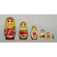 "Матрешка  ""Россияночка"" (6 кукол)"
